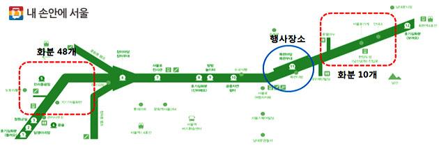 서울로 우리 밀 파종 행사 장소