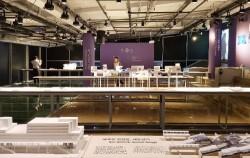 세운상가 다목적홀에서 열리고 있는 `도시재생전`. 서울형 도시재생사업의 과거, 현재, 미래를 알 수 있다. ⓒ조시승