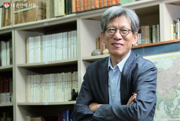 `나의 문화유산 답사기`의 저자 유홍준 ⓒ서울사랑
