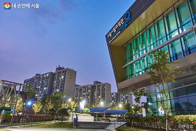 서울시립과학관 외부 전경 ⓒ변경희