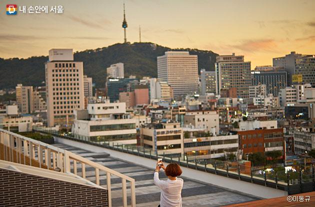 서울 명소가 한 폭에 담기는 사진촬영 명소로 거듭날 듯하다. ⓒ이동규