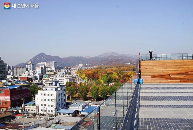 종묘, 북한산까지 다 보여요!