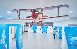 열린 해설을 제공 중인 서울시립과학관 `비행 오디세이` 특별전 ⓒ이동규