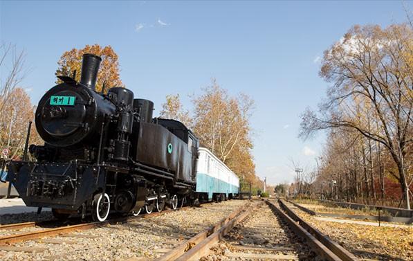경춘선숲길에서 만날 수 있는 협궤열차