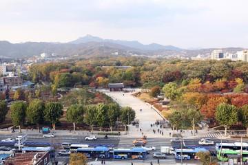 서울옥상에서 바라본 풍경