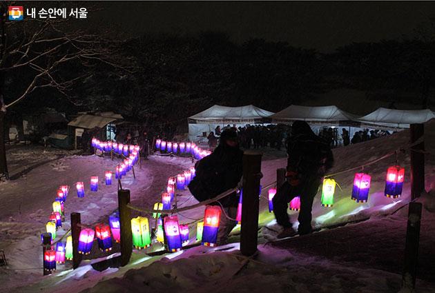 송파구 올림픽공원 망월봉