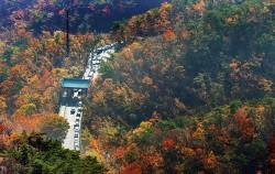 지난 11월 초 늦가을 북한산 전경ⓒnews1