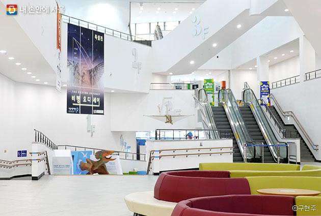 서울시립과학관의 1층 모습ⓒ구현주