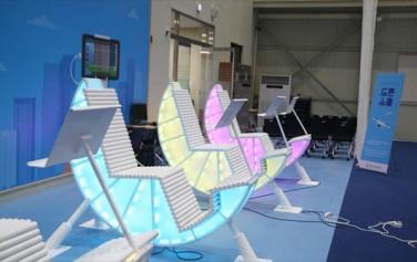 성동 4차산업혁명 체험센터에서는 다양한 미래기술들을 직접 체험해 볼 수 있다. ⓒ임영근