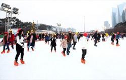 여의도공원 스케이트장