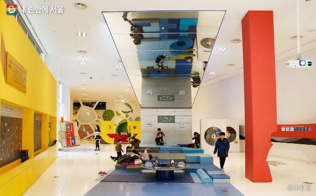 국립한글박물관 내 한글놀이터 ⓒ이현정