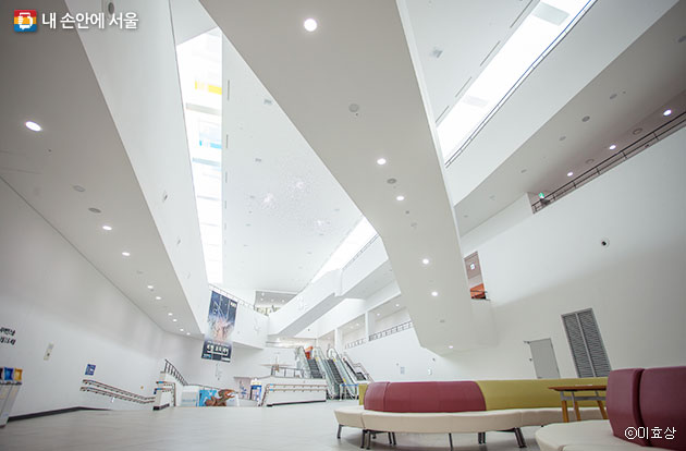 서울시립과학관 내부ⓒ이효상