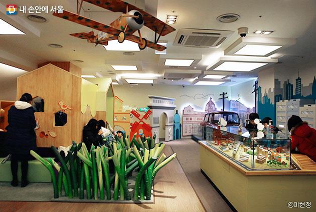 대한민국 역사박물관 내 어린이박물관 ⓒ이현정