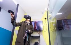 역내 승강장 화재 가상현실 체험