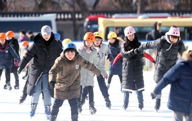 서울광장 스케이트장