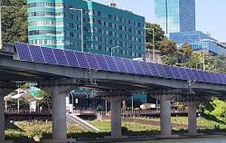 아차산대교에 태양광 패널이 설치된다