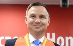 안제이 두다 폴란드 대통령이 서울시 명예시민이 되었다