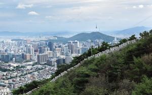 한양도성과 서울 전경