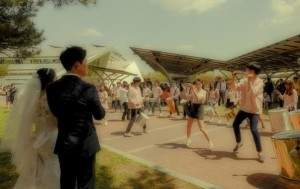월드컵공원 소풍 결혼식