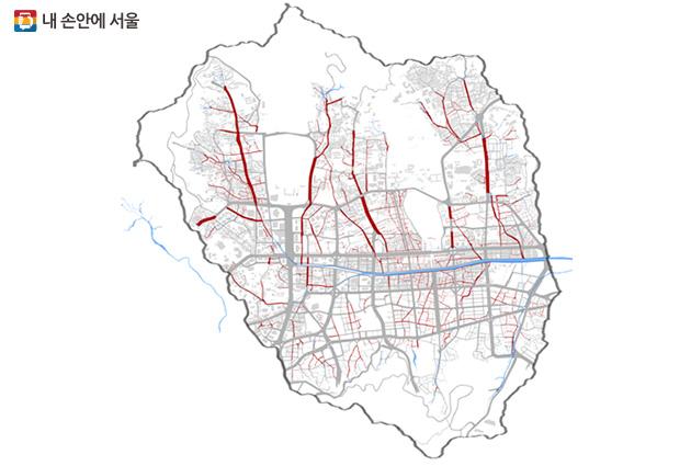 620개 서울옛길 현황