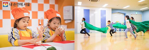 어린이요리학교(좌), 나비야놀자(우)
