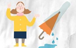 우산 비닐 분해 500년, 좋은 방법 없을까?