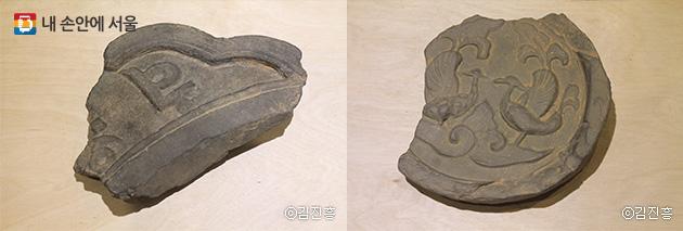3D프린팅으로 제작된 만월대에서 출토된 유물
