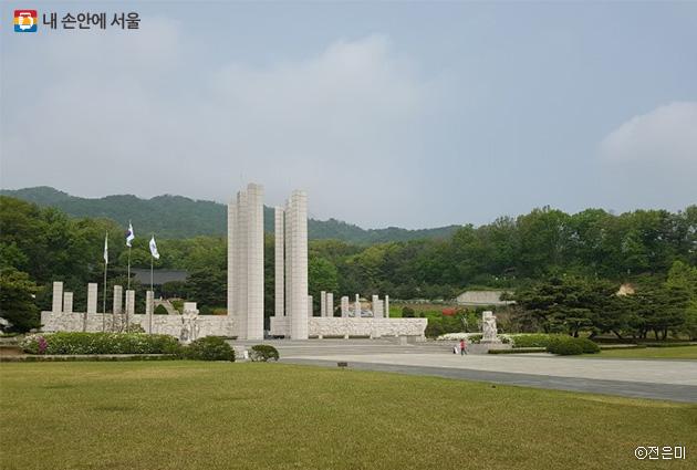 '국립4·19민주묘지' 기념탑