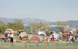노을공원 가족 캠핑장