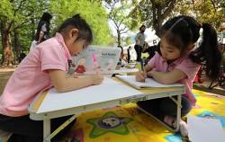 서울함 공원에서 어린이미술대회가 열린다.