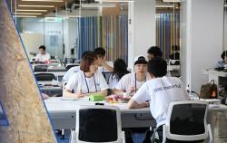 서울창업허브 코워킹공간