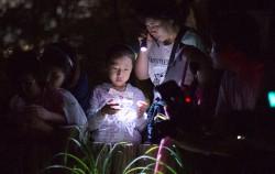 반딧불이 체험하는 어린이