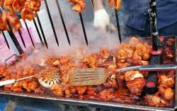 세계음식을 맛 볼 수 있었던 '성북세계음식축제 누리마실'