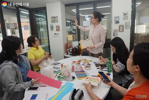 디자이너들의 모임에서 시작해 시민 참여 수업으로 확대된 '디자인 스터디' 수업 현장