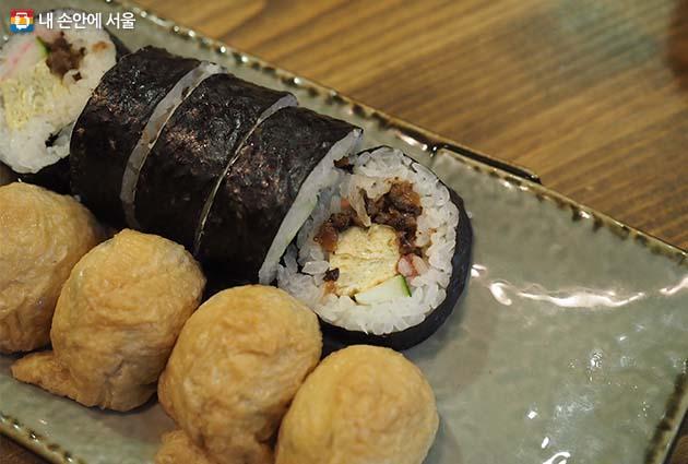 뒤돌아서면 생각나는 김밥과 유부초밥