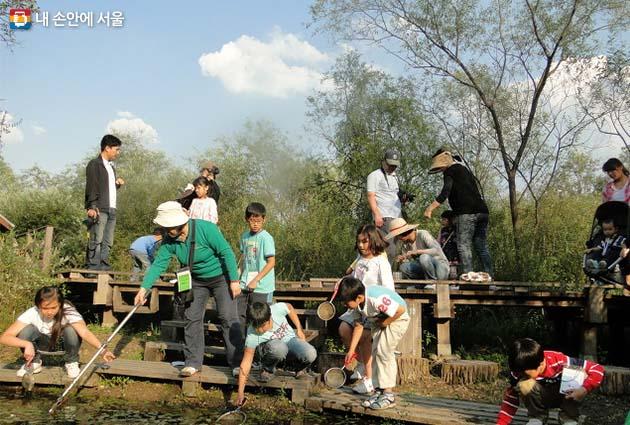 길동생태공원 어린이자연탐사대