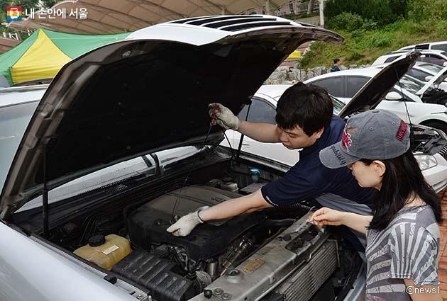 여름 휴가 떠나기 전 차량점검이 필요하다
