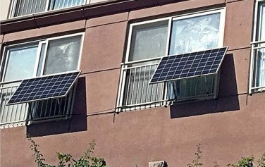 미니 태양광을 설치하면 월평균 7~8천원 정도의 전기요금을 줄일 수 있다.
