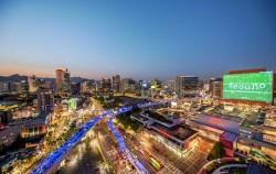 서울로7017에서 개장 1주년 기념행사 '여름밤 초록대행진'이 열린다, 서울로 야경