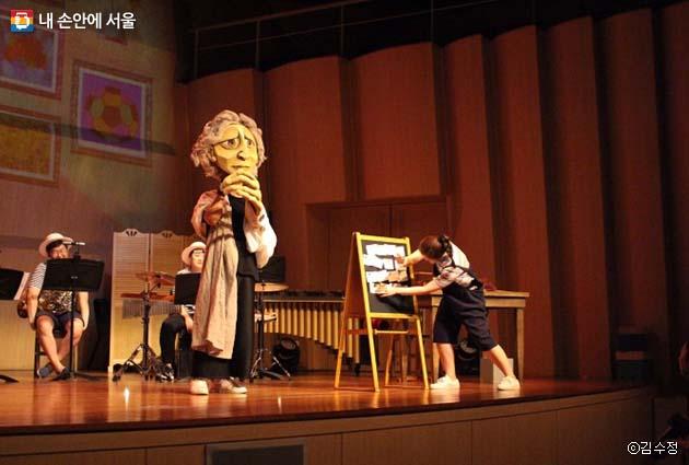 '베토벤의 비밀노트' 공연 장면