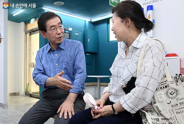 주민센터에서 만난 주민과의 대화