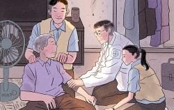 명민호가 그리는 서울이야기(2) 찾아가는 건강돌봄 서비스