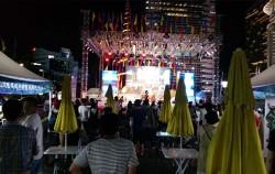 서울로 문화 바캉스 공연이 펼쳐지는 청계광장