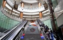 아름다운 지하철역으로 꼽히는 녹사평역에 공공미술작품들이 설치된다
