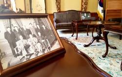 경교장은 임시정부 주요 활동공간으로 백범 김구의 집무실과 숙소로 사용되었다