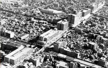 1968년 세운상가 모습(서울역사박물관 소장)