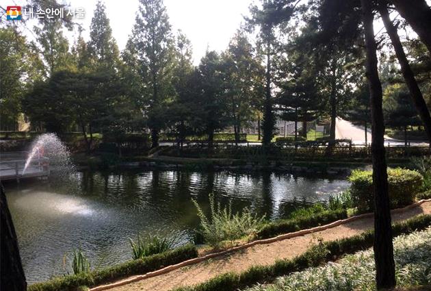 서남물재생센터 - 연못둘레길