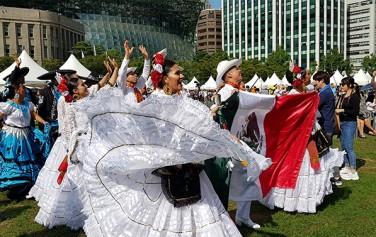 지난 9월 1~2일 서울광장에서 서울 세계도시 문화축제가 열렸다