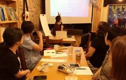 마포마을공동체네트워크의 '일상의 권리' 연속 강의 마지막 강의로 '알기 쉬운 노동권'이 열리고 있다