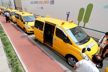 서울 어린이집 통학차량에 '아이 확인 장치' 부착